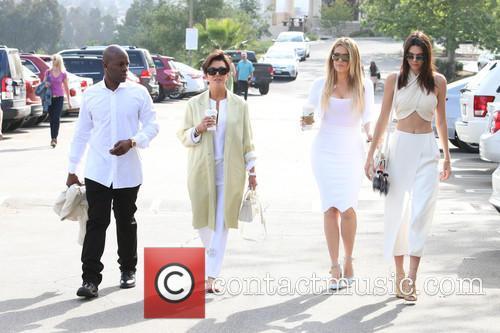 Corey Gamble, Kris Jenner, Khloe Kardashian and Kendall Jenner 4