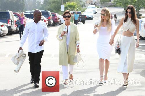 Corey Gamble, Kris Jenner, Khloe Kardashian and Kendall Jenner 5