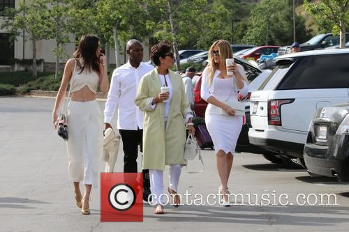 Corey Gamble, Kris Jenner, Khloe Kardashian and Kendall Jenner 6
