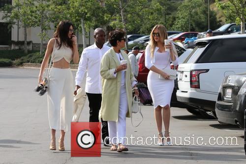 Corey Gamble, Kris Jenner, Khloe Kardashian and Kendall Jenner 8