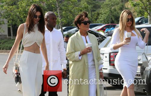 Corey Gamble, Kris Jenner, Khloe Kardashian and Kendall Jenner 11