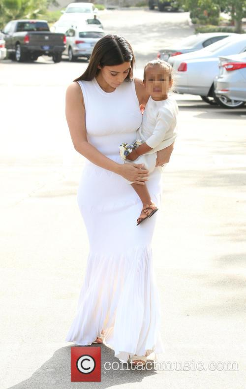 Kim Kardashian and North West 6