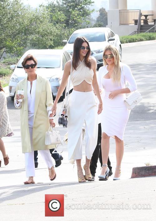 Kris Jenner, Khloe Kardashian and Kendall Jenner 2