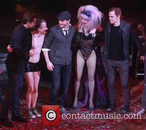 Andrew Rannells, John Cameron Mitchell, Neil Patrick Harris, Lena Hall and Michael C. Hall 6