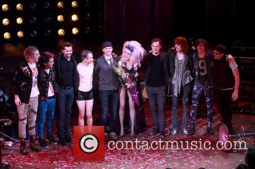 Andrew Rannells, John Cameron Mitchell, Neil Patrick Harris, Lena Hall, Michael C. Hall, Stephen Trask and Angry Inch Band Members 11