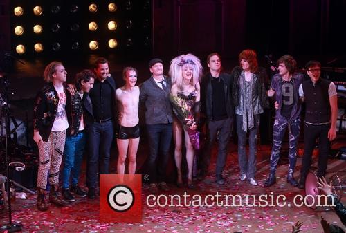 Andrew Rannells, John Cameron Mitchell, Neil Patrick Harris, Lena Hall, Michael C. Hall, Stephen Trask and Angry Inch Band Members 1