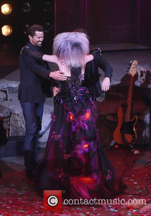 Andrew Rannells and Lena Hall 2