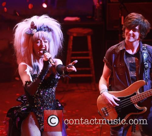Lena Hall and Angry Inch Band Member 5