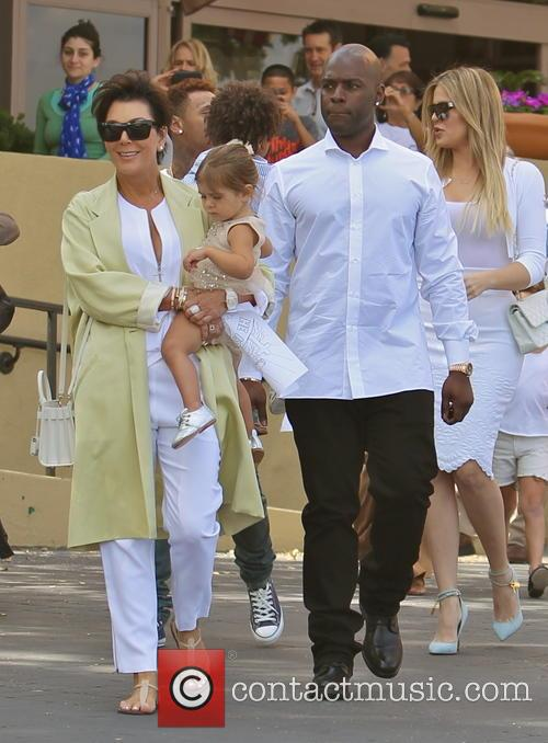 Kris Jenner, Penelope Disick and Corey Gamble 10