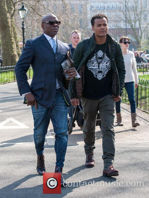 Chris Eubank and Sebastian Eubank