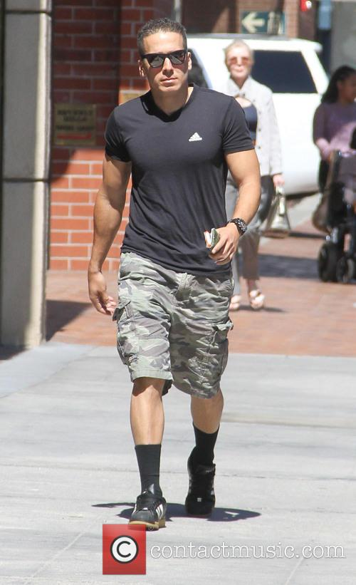 Kirk Acevedo out and about running errands in...