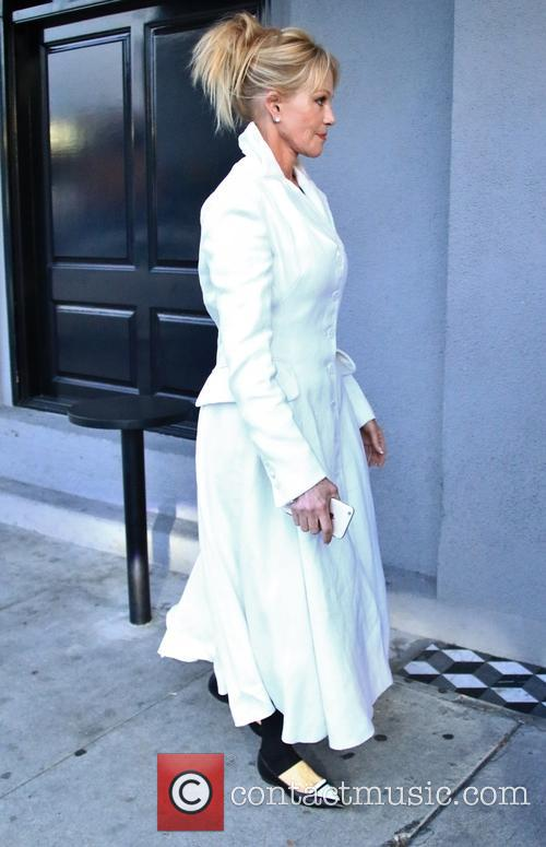 Melanie Griffith arrives at Craig's in West Hollywood