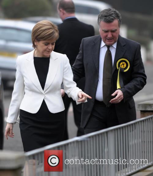Nicola Sturgeon and John Nicolson 4