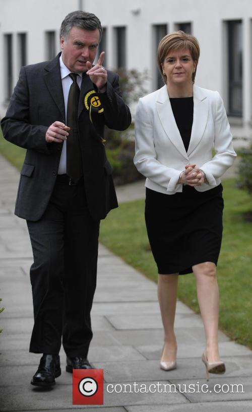 Nicola Sturgeon and John Nicolson 6