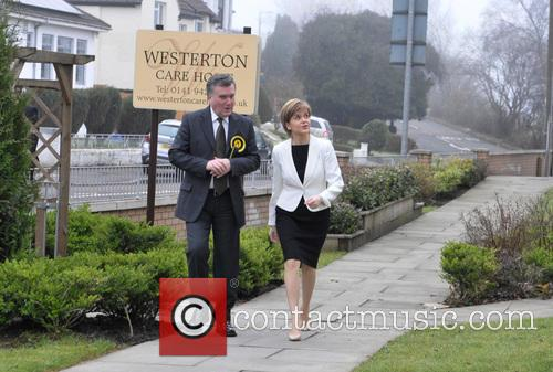 John Nicolson and Nicola Sturgeon 2