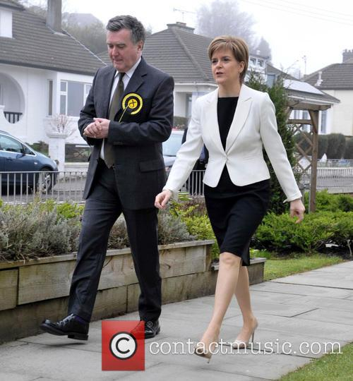 John Nicolson and Nicola Sturgeon 4