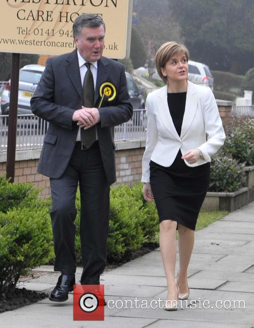 John Nicolson and Nicola Sturgeon 5