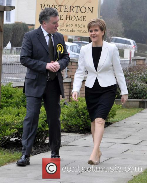 John Nicolson and Nicola Sturgeon 1