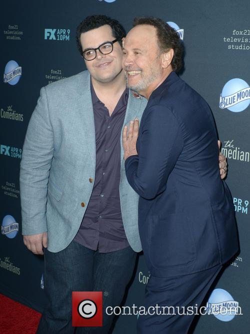 Josh Gad and Billy Crystal 2