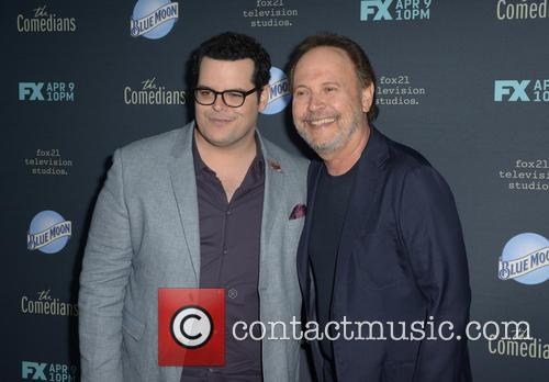 Josh Gad and Billy Crystal 3