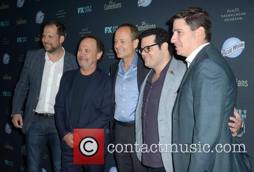 Josh Gad and Billy Crystal 1