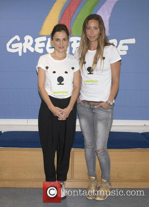 Elena Anaya and Gemma Mengual 1