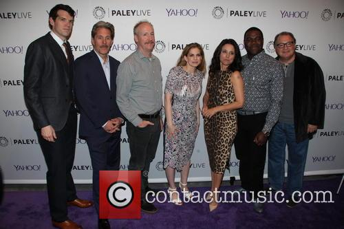 Timothy Simmoms, Gary Cole, Matt Walsh, Anna Chlumsky, Julia Louis-dreyfus, Sam Richardson and Kevin Dunn 3