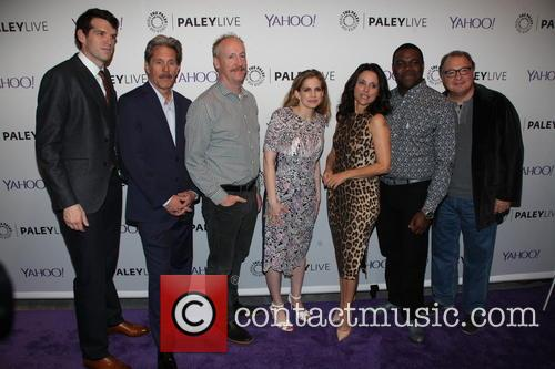 Timothy Simmoms, Gary Cole, Matt Walsh, Anna Chlumsky, Julia Louis-dreyfus, Sam Richardson and Kevin Dunn 4