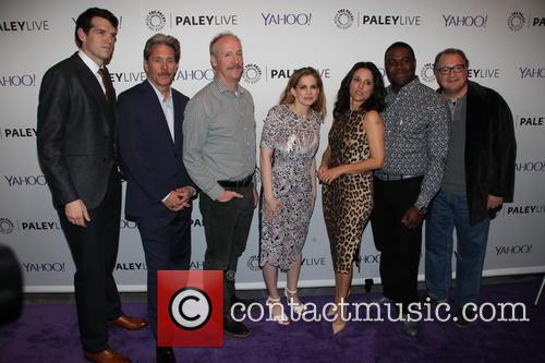 Timothy Simmoms, Gary Cole, Matt Walsh, Anna Chlumsky, Julia Louis-dreyfus, Sam Richardson and Kevin Dunn 1