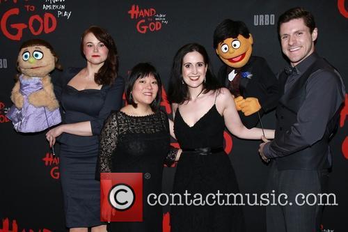 Avenue Q Cast, Kate Monster, Stacie Bono, Ann Harada, Stephanie D'abruzzo, Princeton and Seth Rettberg