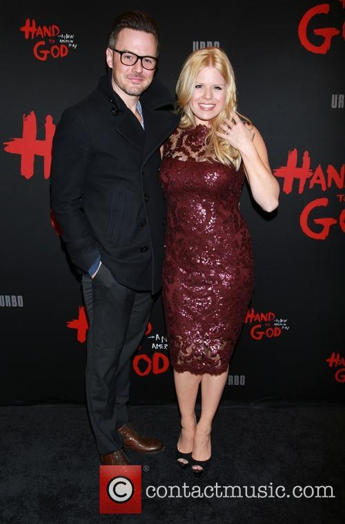 Brian Gallagher and Megan Hilty 1