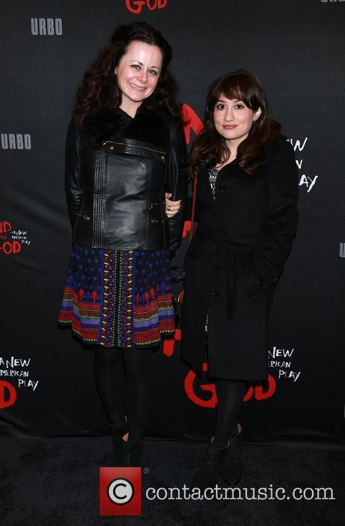 Geraldine Hughes and Lucy Devito
