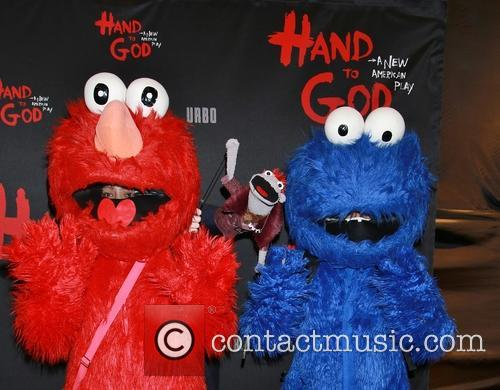Elmo, Tyrone and Cookie Monster 4
