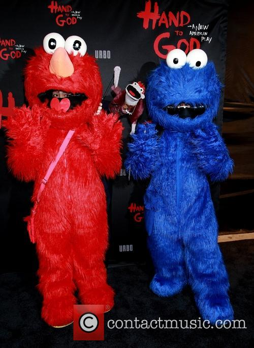 Elmo, Tyrone and Cookie Monster