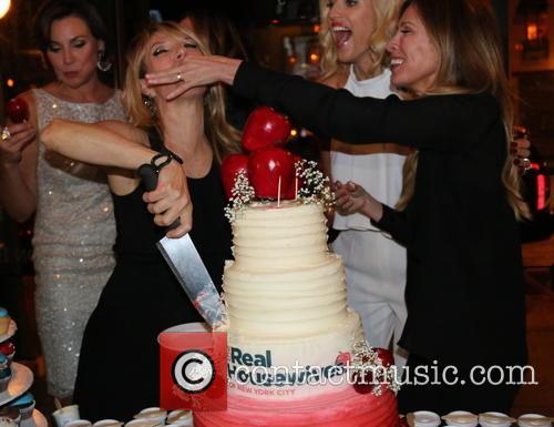Sonja Morgan, Ramona Singer, Luann De Lesseps, Kristen Taekman, Heather Thomson and Carole Radziwill 9