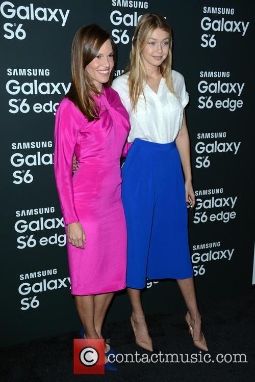 Hilary Swank and Gigi Hadid 7
