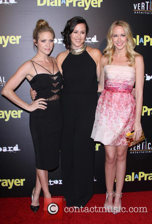 Brittany Snow, Maggie Kiley and Anna Camp 9