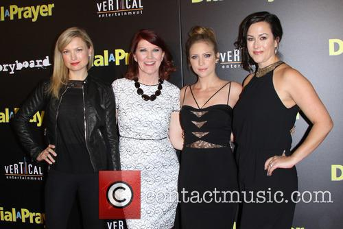 Nicole Forester, Kate Flannery, Brittany Snow and Maggie Kiley