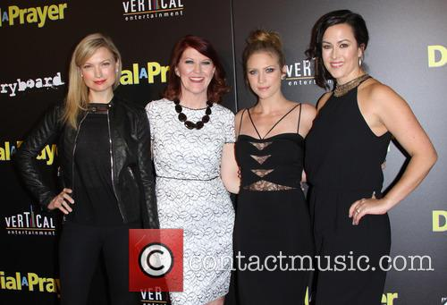 Nicole Forester, Kate Flannery, Brittany Snow and Maggie Kiley 3