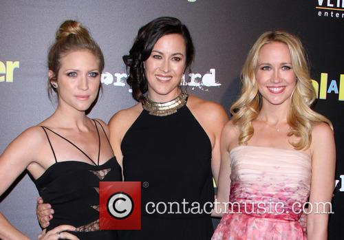Brittany Snow, Maggie Kiley and Anna Camp 11