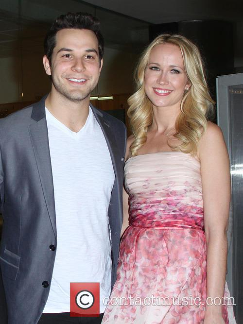 Skylar Astin and Anna Camp 5
