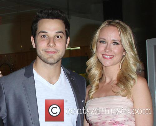 Skylar Astin and Anna Camp 6