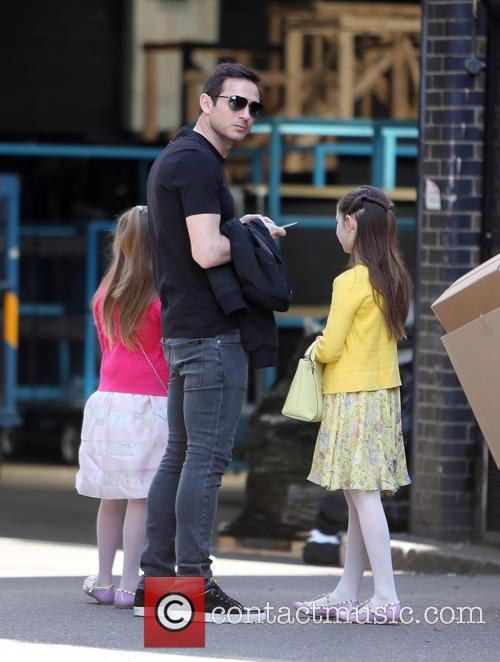 Frank Lampard, Luna Lampard and Isla Lampard 7