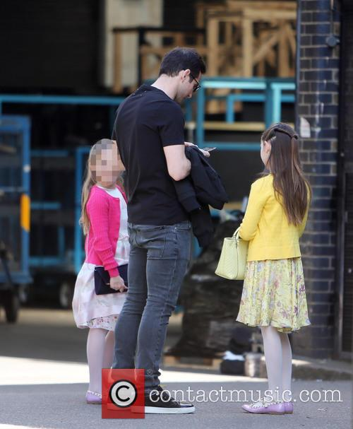 Frank Lampard, Luna Lampard and Isla Lampard 9