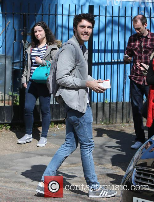 Alfie Deyes Celebrities At The Itv Studios 15 Pictures
