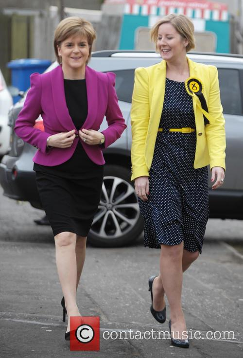 Nicola Sturgeon and Hannah Bardell 11