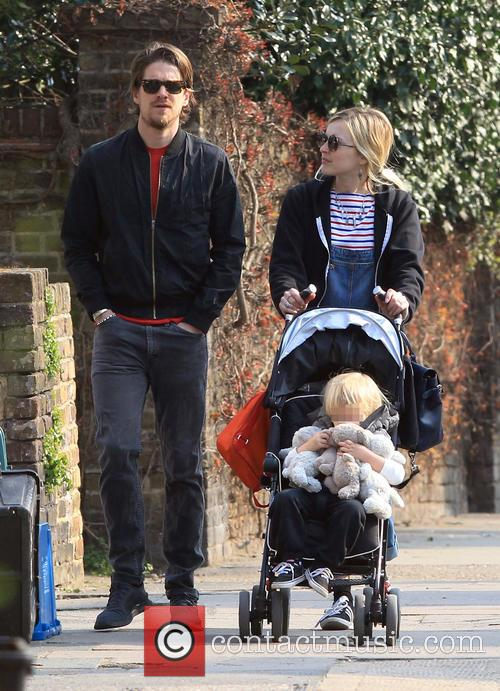 Fearne Cotton, Jessie Wood and Rex Wood 6