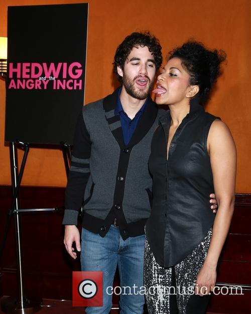 Darren Criss and Rebecca Naomi Jones 2
