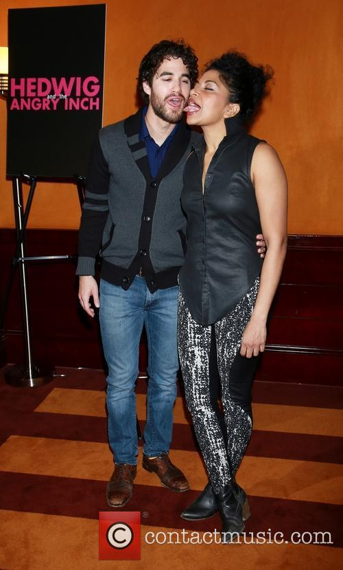 Darren Criss and Rebecca Naomi Jones 4