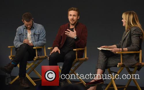 Ryan Gosling, Matt Smith and Edith Bowman 4